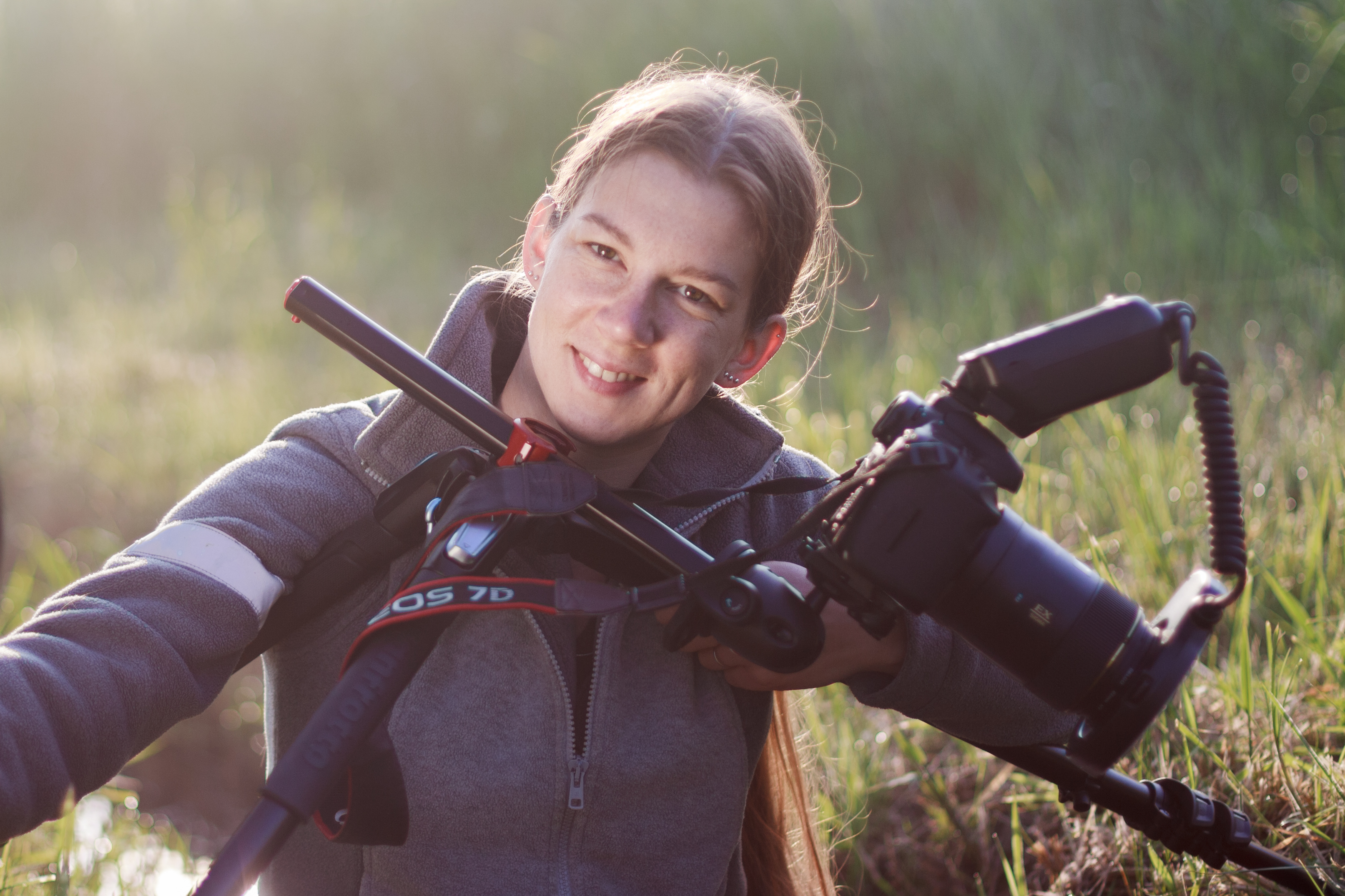 Agata Bednarska i makrofotografia w plenerze