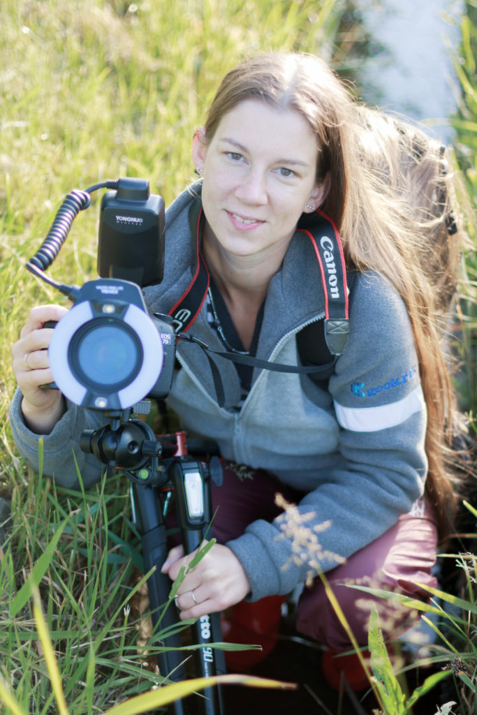 Makrofotografia w plenerze: Agata Bednarska i Yongnuo Macro Ring Lite YN-14 EX